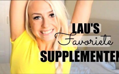 ♥ VIDEO: Lau's TOP 10 favoriete supplementen