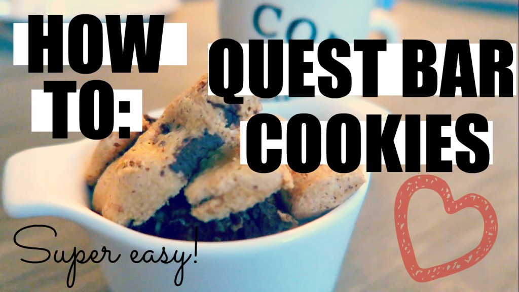 ♥ SNACK: QUEST BAR COOKIES (INCLUSIEF VIDEO!)