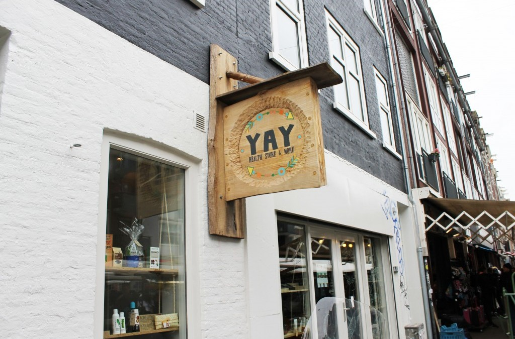 ♥ HOTSPOT: YAY Health Store & More in Amsterdam, de Pijp